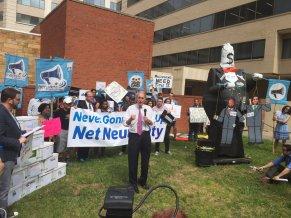 net neutrality protest