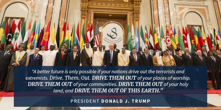 Trump Riyadh quotation